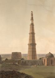 The Cuttub Minar near Delhi